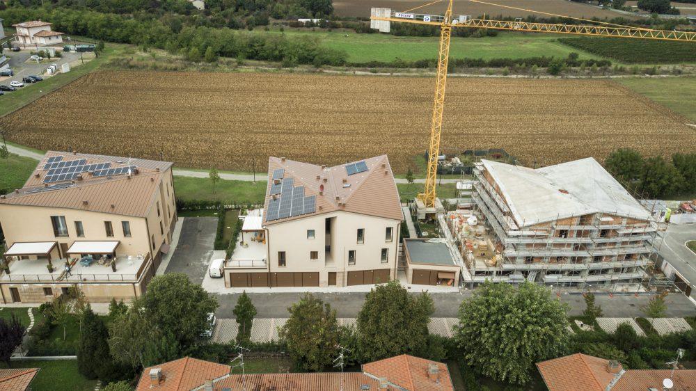 Nuova costruzione di fabbricato residenziale per 6 alloggi.