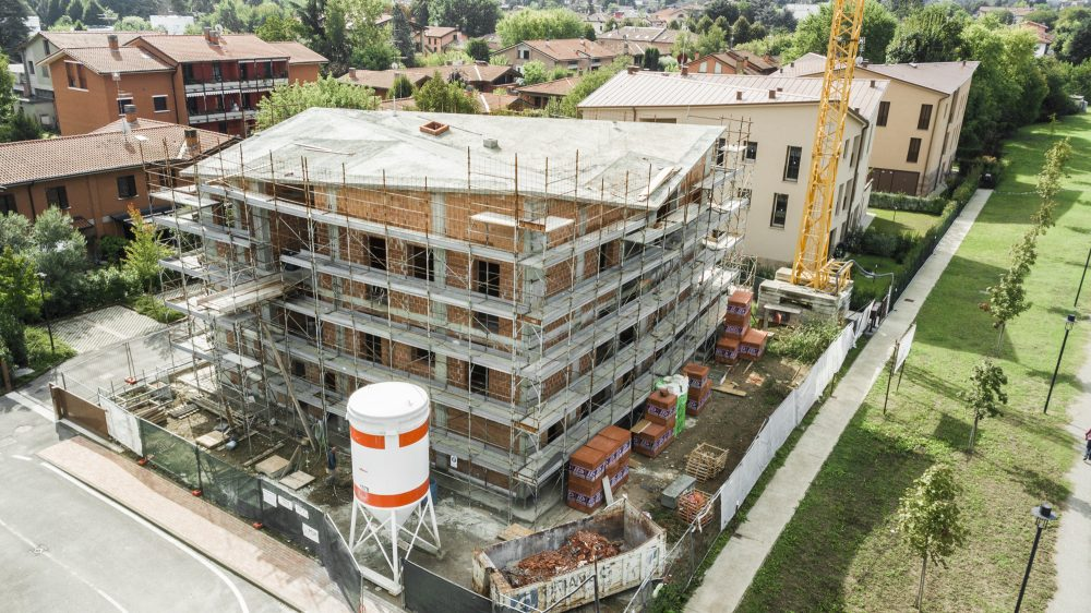 Fabbricato residenziale per 6 alloggi in edilizia convenzionata E.R.S.
