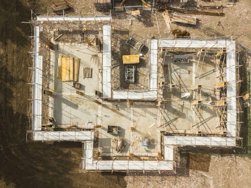 Nuova costruzione di un edificio residenziale del tipo villa abbinata